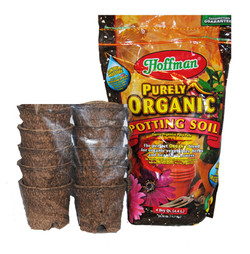 new! organic potting set