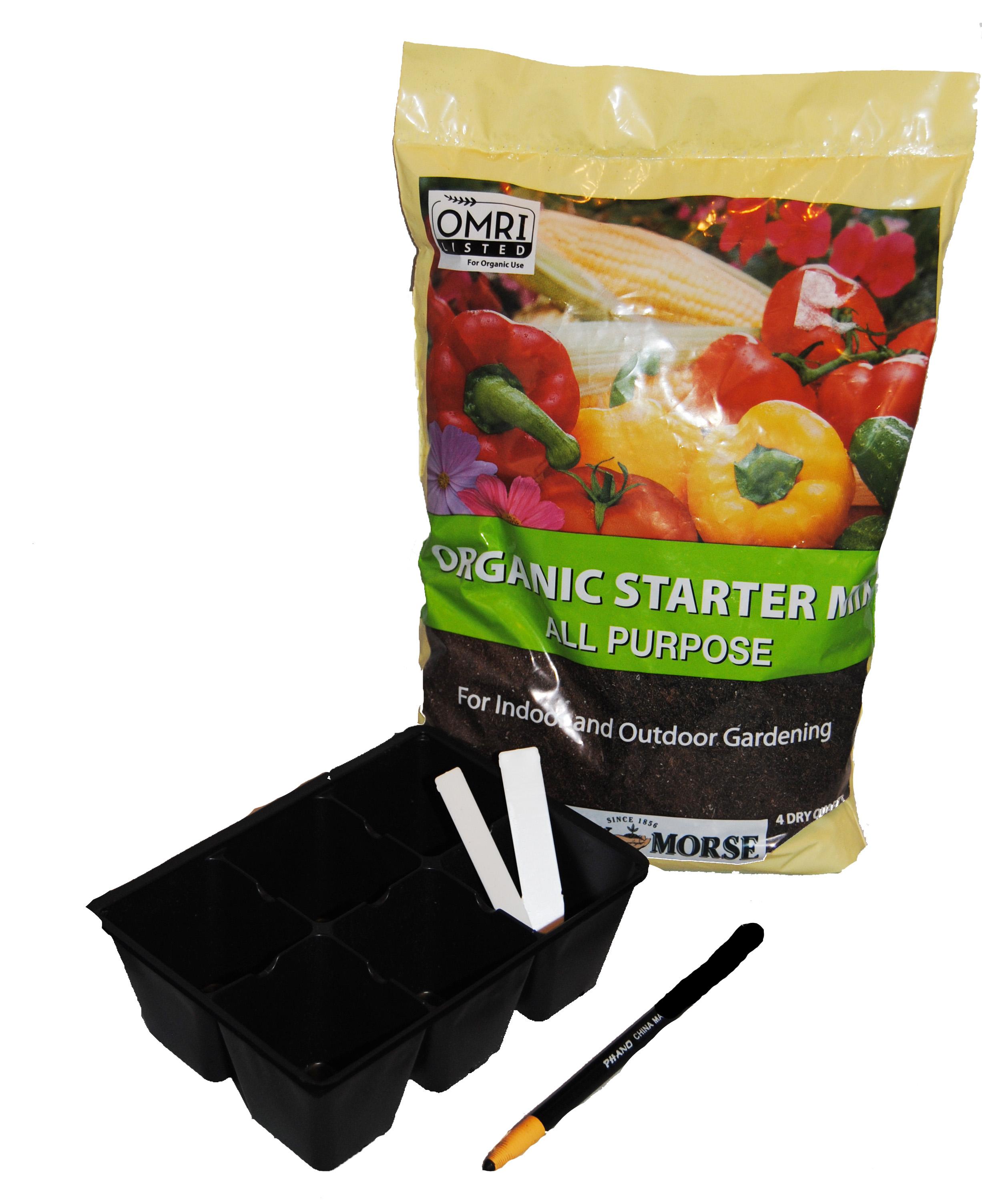 organic seed soil kit