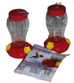 humming bird feeder starter kit
