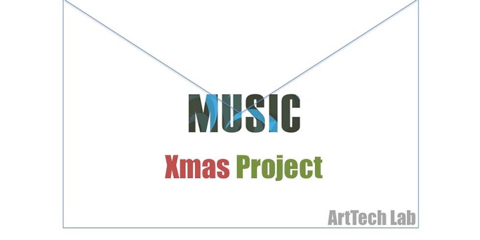 ミュージックプログラミングでクリスマスメロディーを創ろう