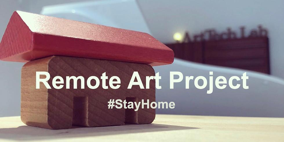 ペインティングで即興作曲をしよう〜Remote Art Project〜