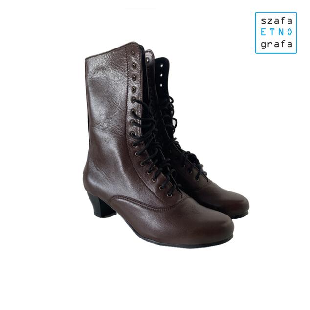 Stroje ludowe krakowskie - buty damskie