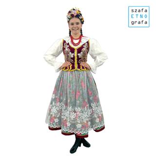 Strój krakowski damski - Liszki