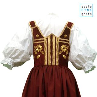 Strój ludowy - Śląsk Cieszyński