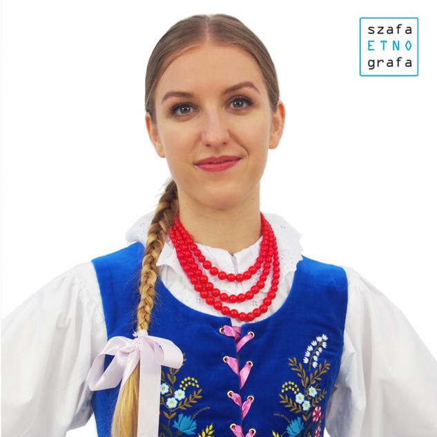 stroje ludowe - Górale Łąccy