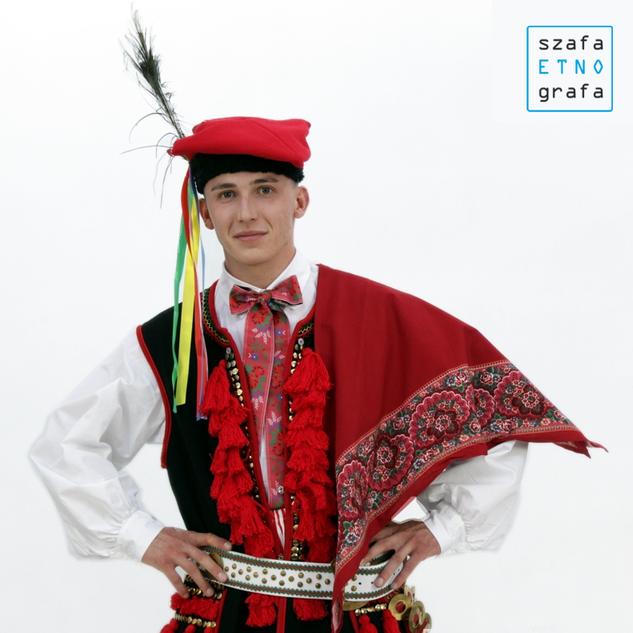 Strój krakowski męski - Liszki