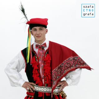 Strój krakowski męski - Mników