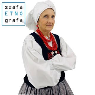 Strój krakowski damski - Mników