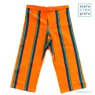 Strój łowicki - spodnie męskie