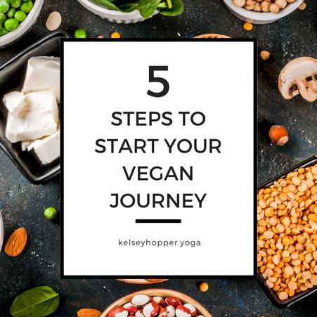 How to Start Your Vegan Journey