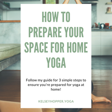 How To Prepare Your Space for Home Yoga!