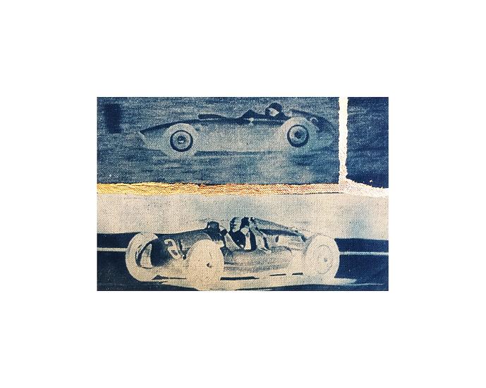 "Racecars 2 & 6 - 8"" x 10"" Print"