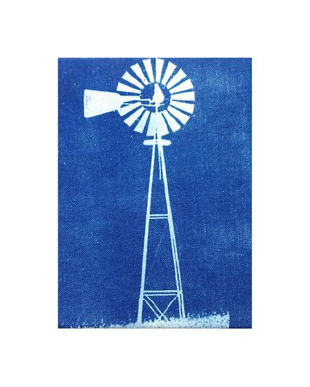 """Windmill - 8"""" x 10"""" Print"""
