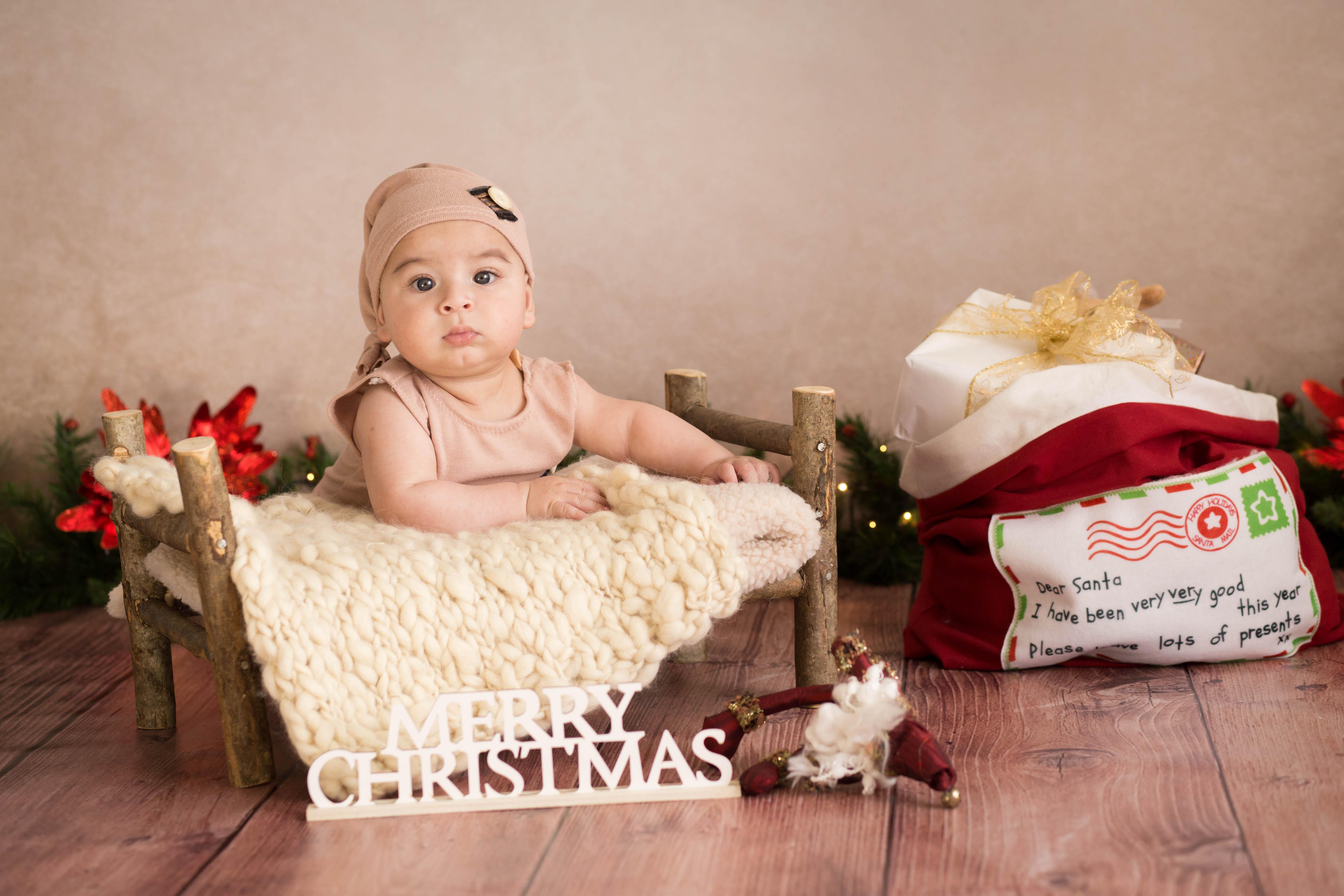 sesión fotografica de navidad