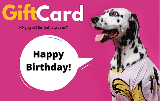 Birthday Girl  of The Paw Shop Gift Card