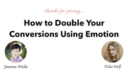 Double Conversions with Emotions