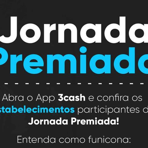 Jornada Premiada do App 3cash vai começar em Ribeirão Preto-SP.