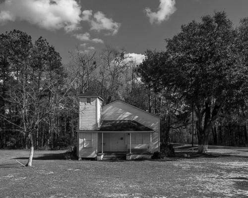 Little White Church near Midway GA on Rt 17