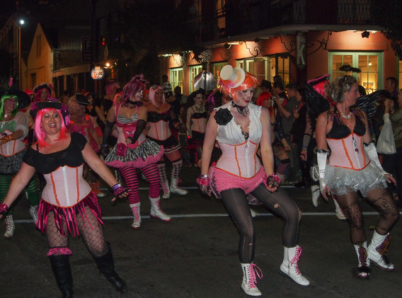 In Sync at Krewe of Boo