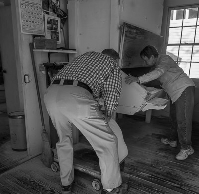Owners at Suber's Corn Mill