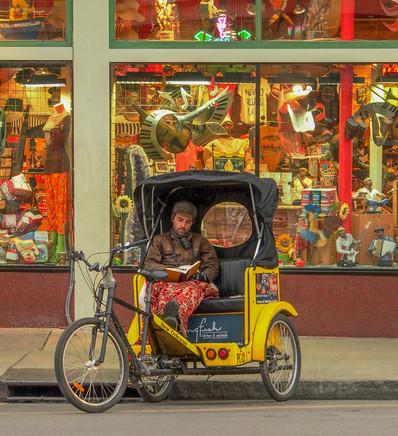Killing Time French Quarter Bike Taxi
