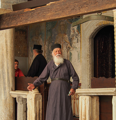 Patmos Monk