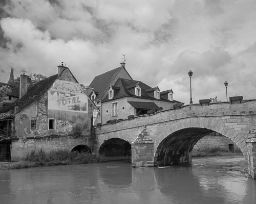Bridge at Montbard, France