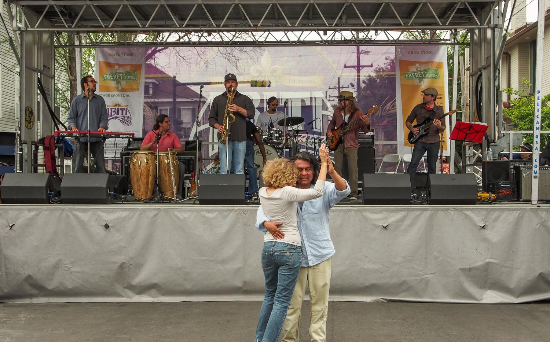 Freret Fest Dance Couple