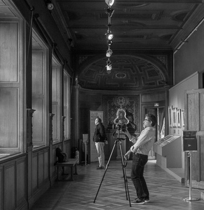 Photographer, Chateau Chantilly, France
