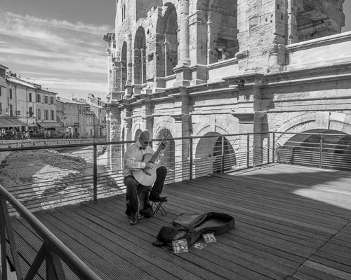 Guitar Man Arles France