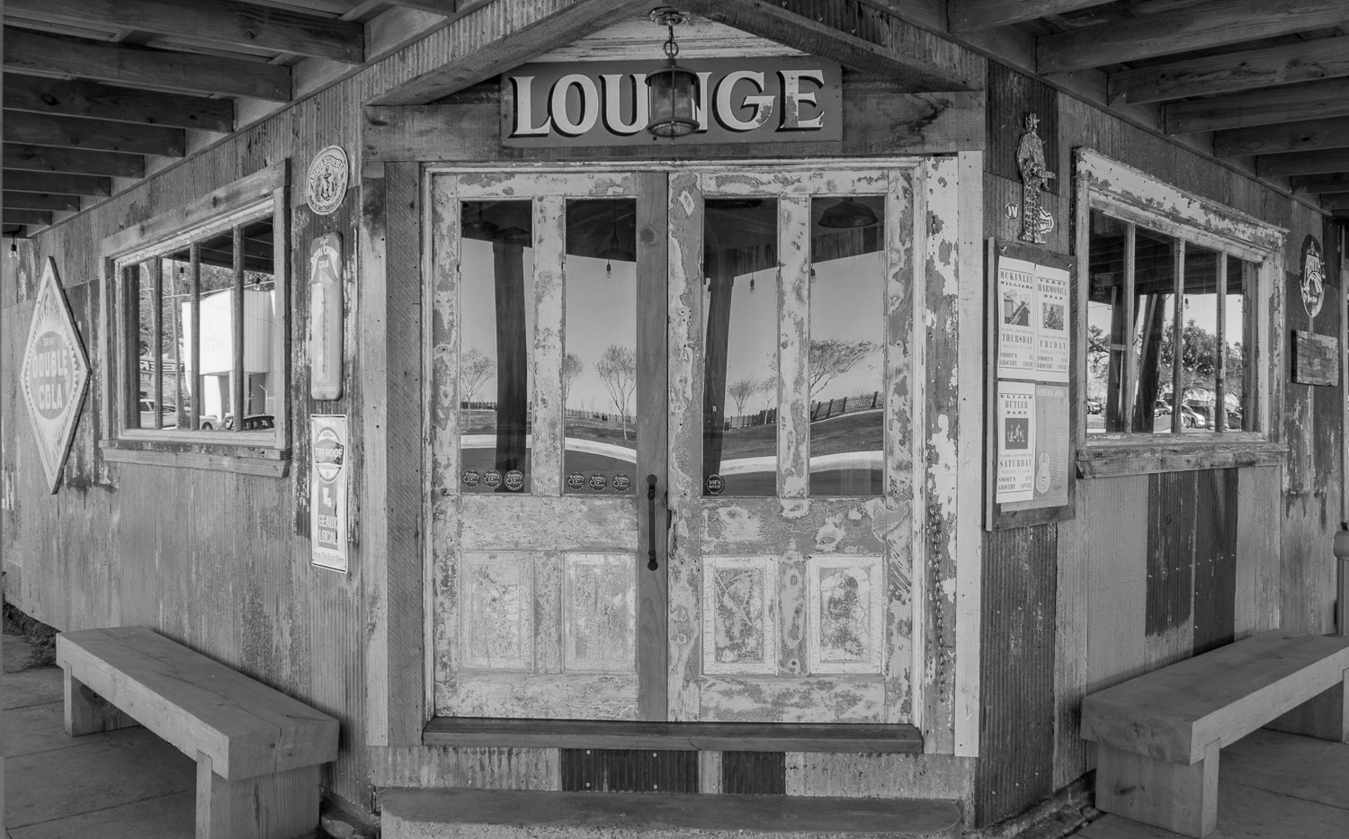 Entrance to Smoot's Grocery Blues Club