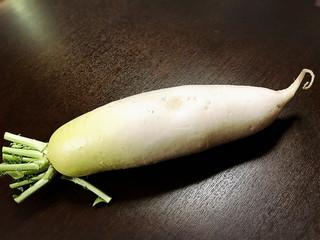 お客様から野菜を頂きました
