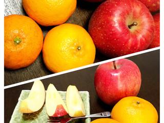 お客様から果物を頂きました。