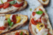 Catering Creations Roasted Vegetable Bruschetta