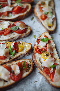 Bruschetta with Ham