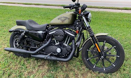 2012 Harley Davidson XL883N Iron