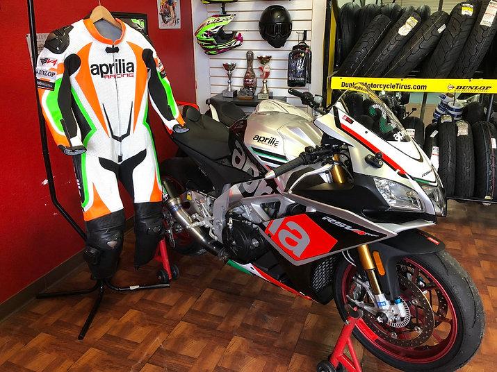 Custom designed racing suit