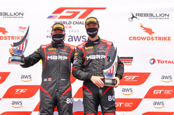 Barkey and Marcelli on the podium at VIR