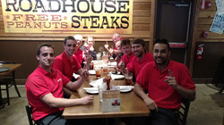 Racers Edge team victory dinner