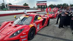 Racers Edge team cars at Mid Ohio