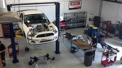 Racers Edge builds Mustang race car