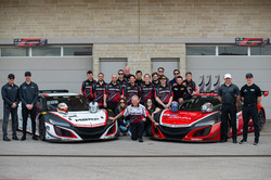 The Racers Edge team at COTA