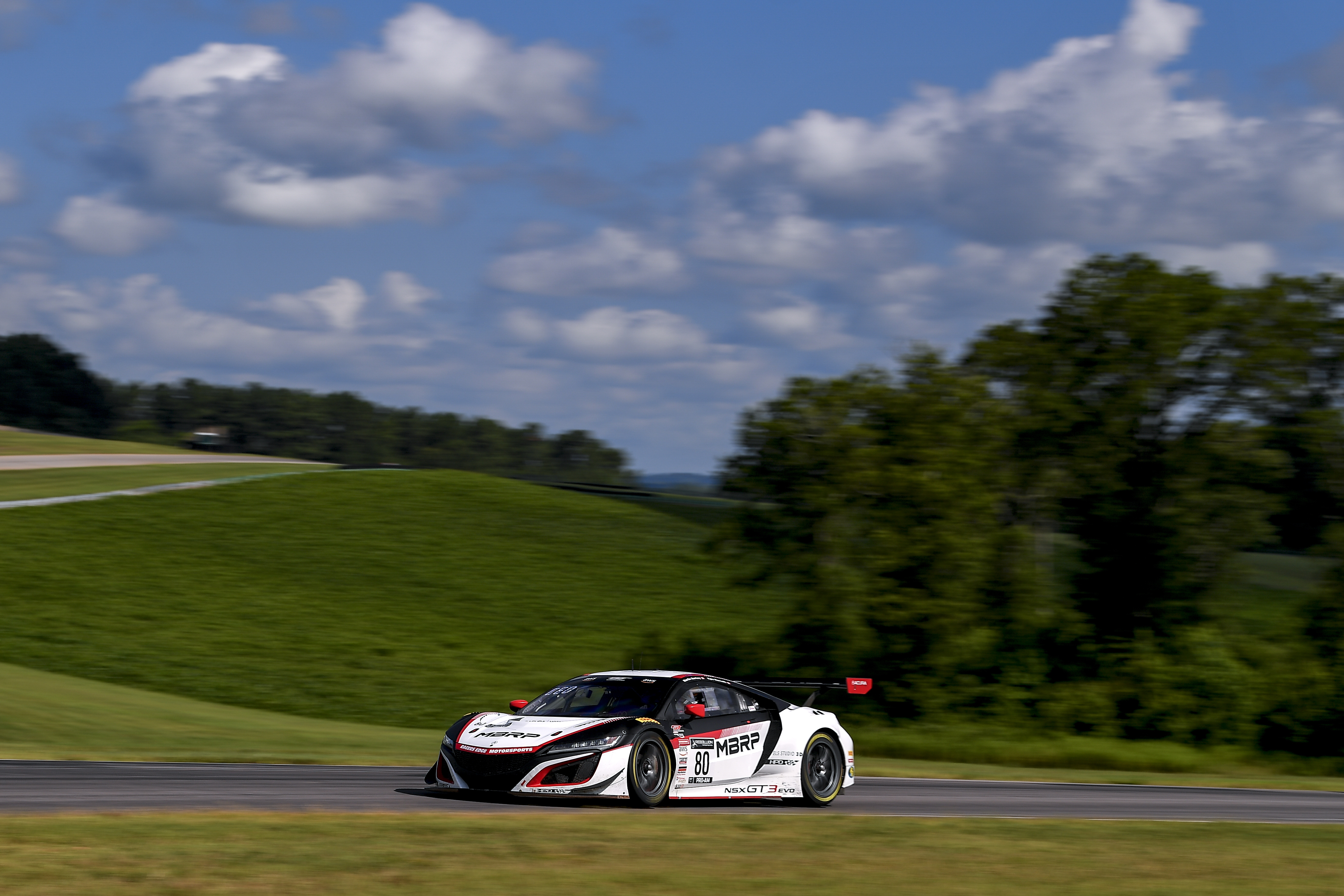 No 80 MBRP Acura NSX GT3 Evo