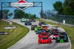 Racers Edge Motorsports in the lead