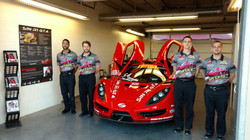 Racers Edge car and crew at COTA