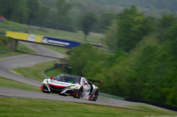 The MBRP Acura NSX GT3 Evo at VIR
