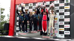 Racers Edge podium celebration!