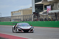Cheering for the No 80MBRP Acura NSX GT3