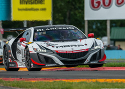 The MBRP Acura NSX GT3 Evo at WGI