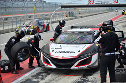 The No 80 MBRP Acura NSX GT3 Evo comes i